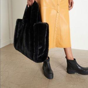 Stand Studio Faux Fur Bag